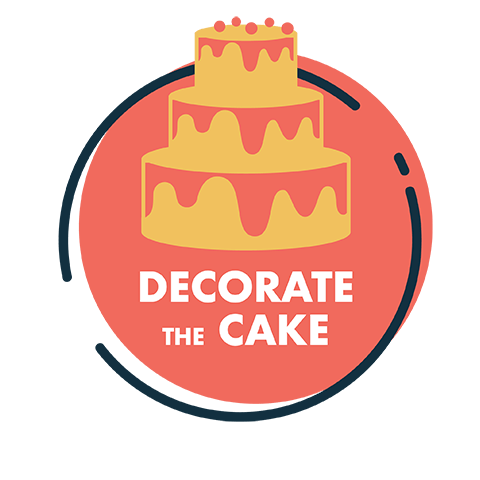 decorate the cake