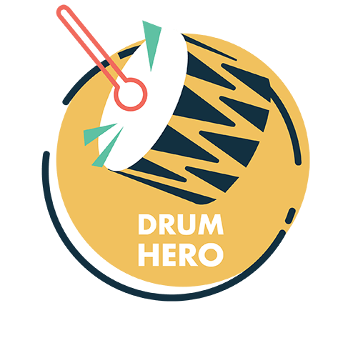drum hero logo