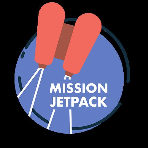 mission jetpack logo